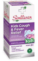 kids cough and fever relief