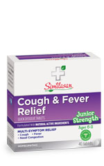 junior strength cough and fever relief tablets