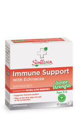 junior strength immune support with echinacea tablets