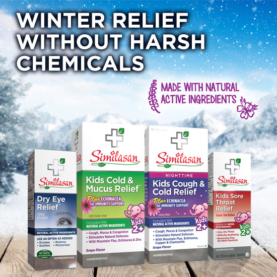 WINTER RELIEF WITHOUT HARSH CHEMICALS