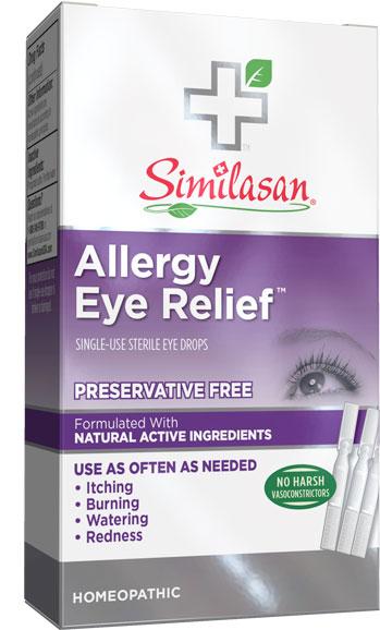 Single-Use Allergy Eye Relief