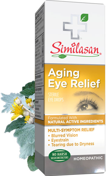 Aging Eye Relief Mulit Symptom Eye Care Natural Eye
