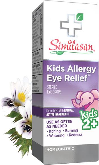 Alivio Para la Alergia Ocular Para Niños