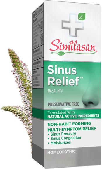 Alivio de la Sinusitis