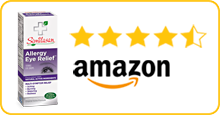 Similasan Amazaon 5Star Rating - Allergy Eye Relief