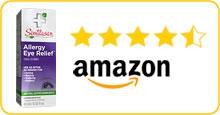 Similasan Amazaon 5Star Rating - Allergy Eye Relief