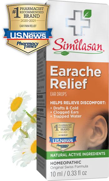 Alivio de Dolor de Oído