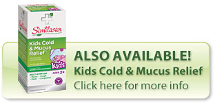 Kids cold and mucus relief syrup