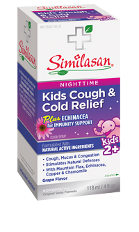 Kids nighttime cough and cold relief syrup