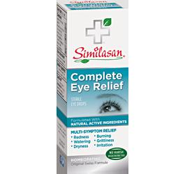 Complete Eye Relief Mulit Symptom Eye Care Natural Eye