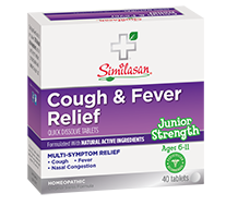 junior strength cough and fever relief