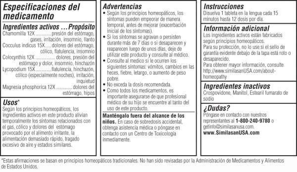 Gas y Cólico + Dolores Estomacales