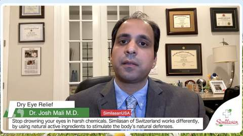 Live chat with Dr. Mali and Similasan: Dry Eye Relief