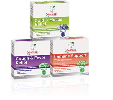 Junior strength cold mucus and immunity