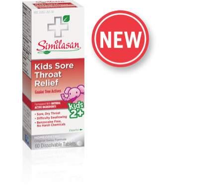 Kids Sore Throat Relief
