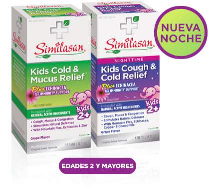 Kids Cold and Mucus Relief - Nighttime Kids Cough and Cold Relief