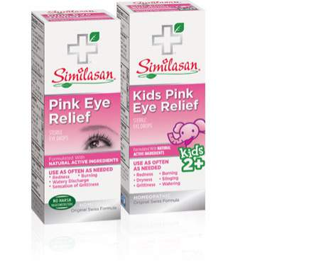 pink eye relief and kids pink eye relief