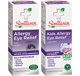 Allergy eye relief and kids allergy eye relief