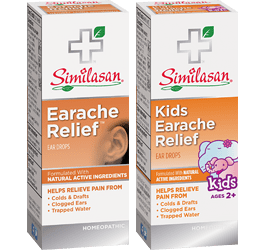 Earache Relief and Kids Earache Relief Drops