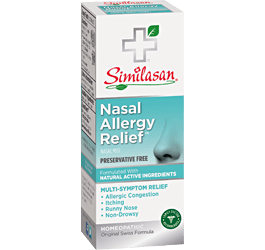 Nasal allergy relief