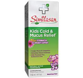 Kids Cold & Mucus Relief syrup