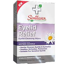 Eyelid Relief Cleansing Wipes