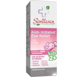 Alivio para la ojo Irritado para Niños