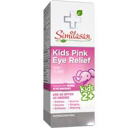 kids pink eye relief