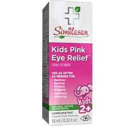 kids pink eye relief eye drops
