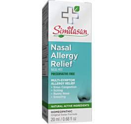 Alivio de la Alergia Nasal