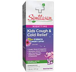 Nighttime Kids Cough and Cold Relief syrup