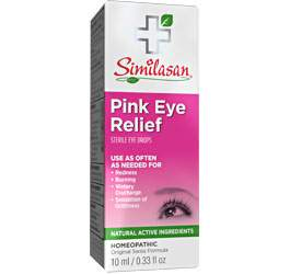 pink eye relief eye drops